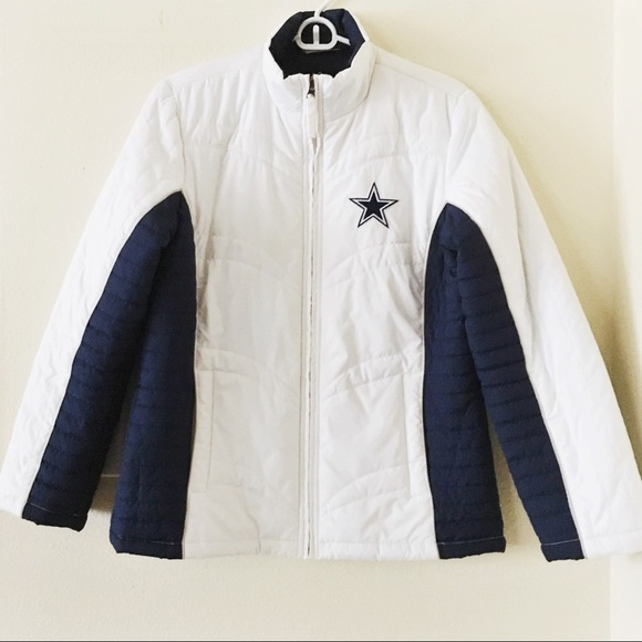 hot sale online 06974 e86f8 Dallas Cowboys Puffer Jacket